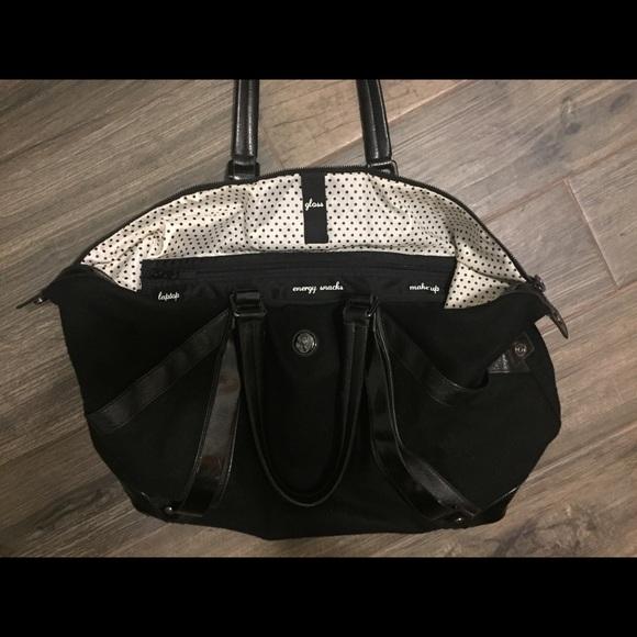 760cc01f9c3b lululemon athletica Handbags - Lululemon Anytime Gym Bag GUC so many  pockets!